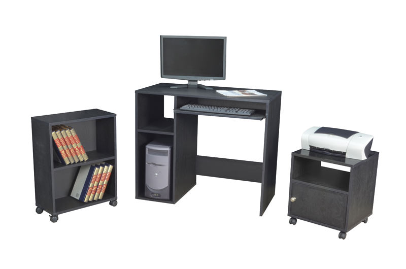 Ready To Assemble Collection Office In A Box By Regency Seating shown in an ebony finish.